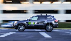 MASE autonomous test vehicle